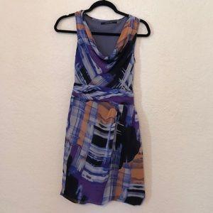 ANDREW MARC | Purple Chic Work Dress 2